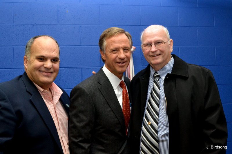 Barry Doss, Governor Haslam, Bert Spearman