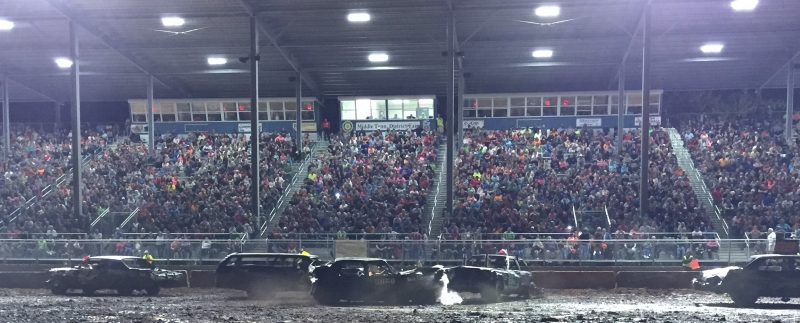 First MTDF Event, Demolition Derby on September 22, 2014